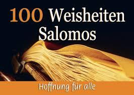 salomos sprüche auf bibelkärtchen fontis brunnen basel - Sprüche Salomos
