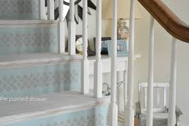 whitewashed stairs and a foyer makeover suzanne bagheri