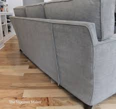 Pottery Barn Sofa Covers by Sofa Slipcover In Pottery Barn Performance Tweed The Slipcover Maker