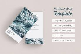 vertical photographer business card by design bundles
