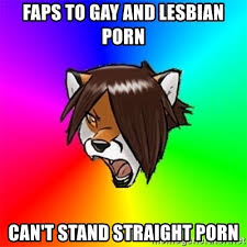 Lesbian Porn Meme - faps to gay and lesbian porn can t stand straight porn advice