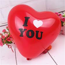 valentines day baloons 50 pcs heart engagement anniversary weddings balloons i