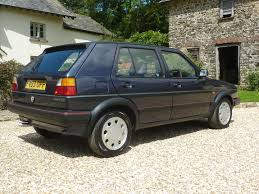 used 1989 volkswagen golf gti mk1 mk2 gti for sale in devon