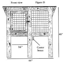Rabbit Hutch Plans For Meat Rabbits Build Your Own Rabbit Hutch Diagrams Countryside Mag