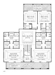 single story 5 bedroom house plans 2 master bedroom house plans best of 2 master bedroom house plans