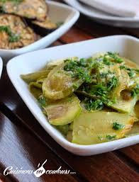 cuisiner des courgettes au four salade de courgettes grillées au four à tomber cuisinons en couleurs