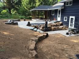 stone walls and natural stone fences installed