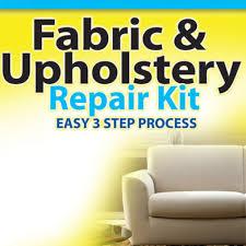 How To Repair Car Upholstery Fabric Fabric Upholstery Carpet Repair Kit The Official Asseenontv