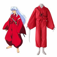 Chinese Costume Halloween Aliexpress Buy Dog Forest Spirit Inuyasha Cosplay Costume