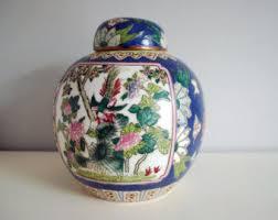 Ginger Jar Vase Porcelain Ginger Jar Etsy
