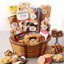 bakery gift baskets zabar s broadway bakery basket kosher gift basket
