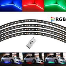 7 color led underbody kit led undercar lights car led lights