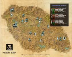 map quests craglorn yokudan quest elder scrolls