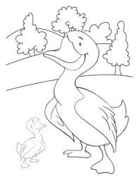 duck coloring pages printable fiar quilt baby