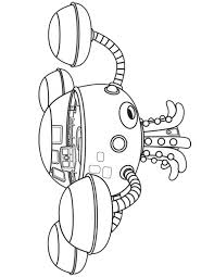 The Octonauts Coloring Pages Octonauts Coloring Pages