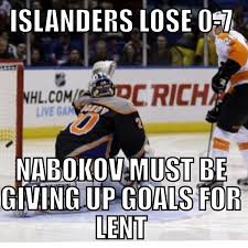 Nhl Memes - my first ever meme nhlmemes memes lent islanders fly flickr
