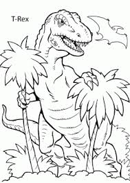 Dinosaurs Coloring Pages For Kids To Print And Color Dinosaur Coloring Page