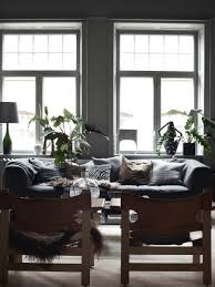 decordots darker side of scandinavian style lotta agatons home dark scandinavian style living room