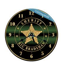 personalized clocks with pictures custom wall clocks personalized clocks firefighter clocks