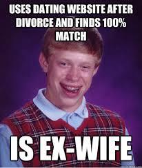 Ex Wife Meme - bad luck brian memes quickmeme