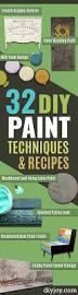 Bedroom Furniture Repair 32 Diy Paint Techniques And Recipes Paint Techniques Stenciling