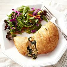 chicken sausage calzone recipe eatingwell