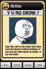 Drinking Game Meme - image 122984 4chan drinking game cards know your meme