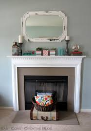 simple fireplace upgrade annie sloan chalk paint east coast