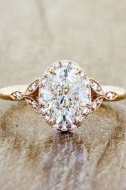 vintage oval engagement rings 18 sophisticated vintage engagement rings to prove your oh