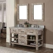 rustic bathroom sinks and vanities rustic style 60 inch single sink bathroom vanity and matching wall
