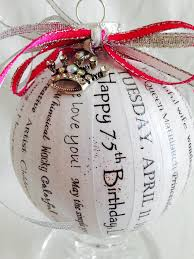 birthday gift unique and personalized ornaments handmade