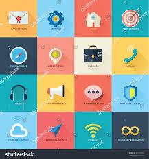 16 beautiful web icons you design stock vector 207178573