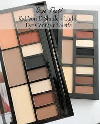 kat von d shade light eye contour palette dupe that the kat von d shade light eye contour palette vs the