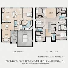 emerald island 7 bed villa floor plan