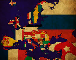 Europe Map In 1914 by I Made A Flag Map Of Europe In 1914 On The Eve Of Ww1 Vexillology