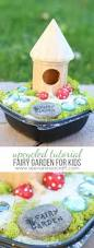 craft upcycled fairy garden for kids see vanessa craft