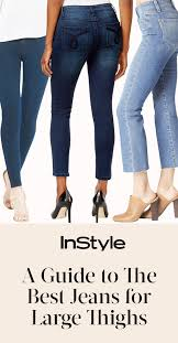 the best jeans for women with large thighs instyle com