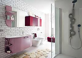 ikea bathroom design ideas using white brick wall tiles and wall ikea bathroom design ideas using white brick wall tiles and wall mirror with decorative wall cabinets
