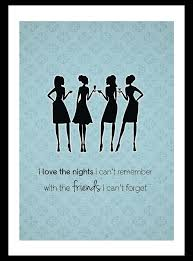 vintage style shabby chic art print cocktail party friend quote