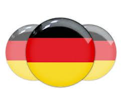 Germman Flag Product German Germany Flag Domed Sticker Decal Emblem Bmw
