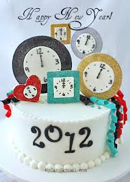 New Years Cake Decorating Ideas by Craftionary
