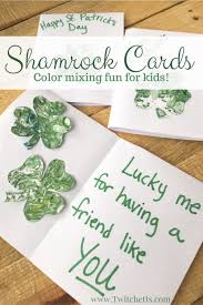 musical shamrock craft st patrick u0027s day art projects for kids