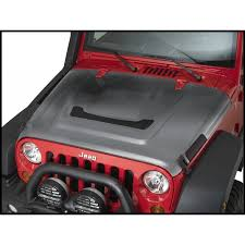 aev jeep 2 door jeep parts buy aev heat reduction hood dual nozzle for 2007