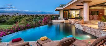 big island villas luxury beach homes for rent