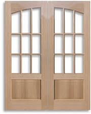 Solid Interior French Doors Solid Wood Red Oak Doors Home Surplus