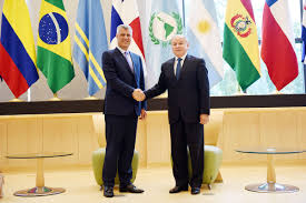 Republic Of Panama Flag President Thaçi Seeks To Deepen Cooperation With The Latin