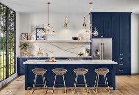 navy blue kitchen island ideas 33 blue kitchen island ideas stunning trends you can apply