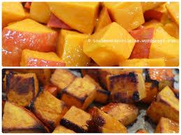cuisiner le potimarron au four potimarron rôti caramélisé tout le monde en cuisine