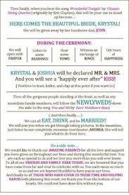 Wedding Program Templates Free Download Blair U0027s Template Of Wolfpack Program In Word Weddings Do It