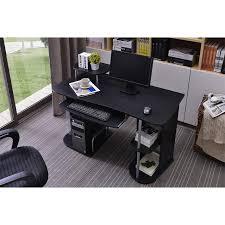 bureau informatique noir bureau informatique noir s 104 2082